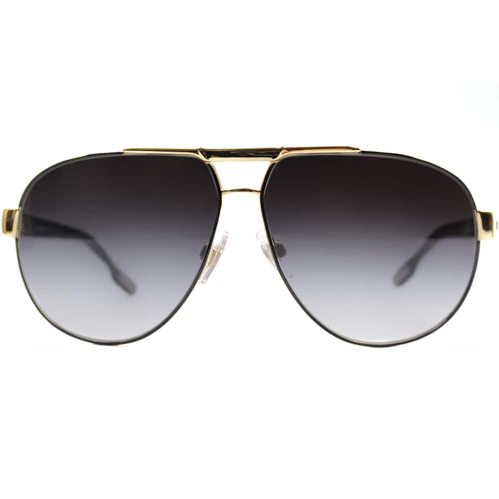 59da8cc03d7d Shop Dolce   Gabbana Men s  DG 2099 10818G  Aviator Sunglasses - Free  Shipping Today - Overstock - 8970551