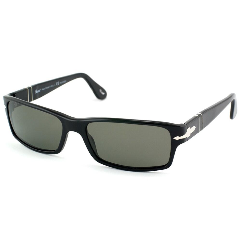 86156c2e10 Shop Persol Men s  PO 2747 95 48  Black Sunglasses - Free Shipping Today -  Overstock - 8970552