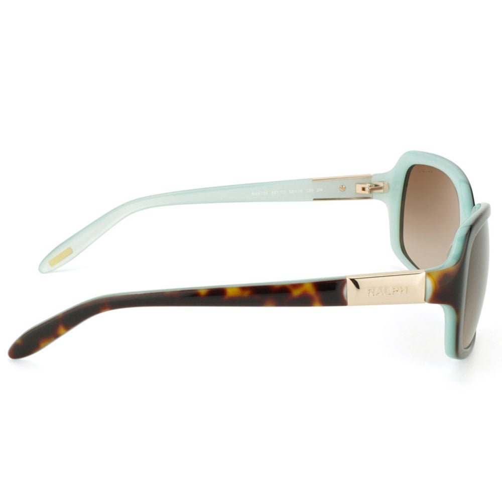 72d867b09a1e Shop Ralph Lauren Women's 'RA 5130 601/13' Tortoise Sunglasses - Free  Shipping Today - Overstock - 8970563