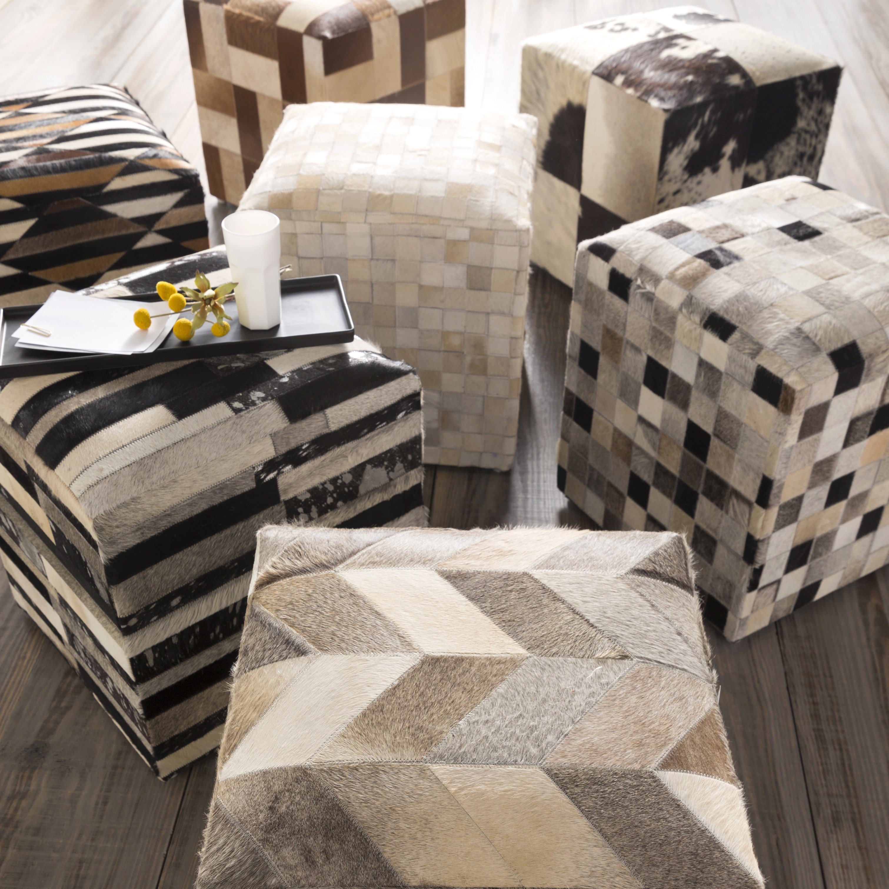 oversized cowhide living online crazygoodbread tips famous fabric com bench also in room storage europe ottoman
