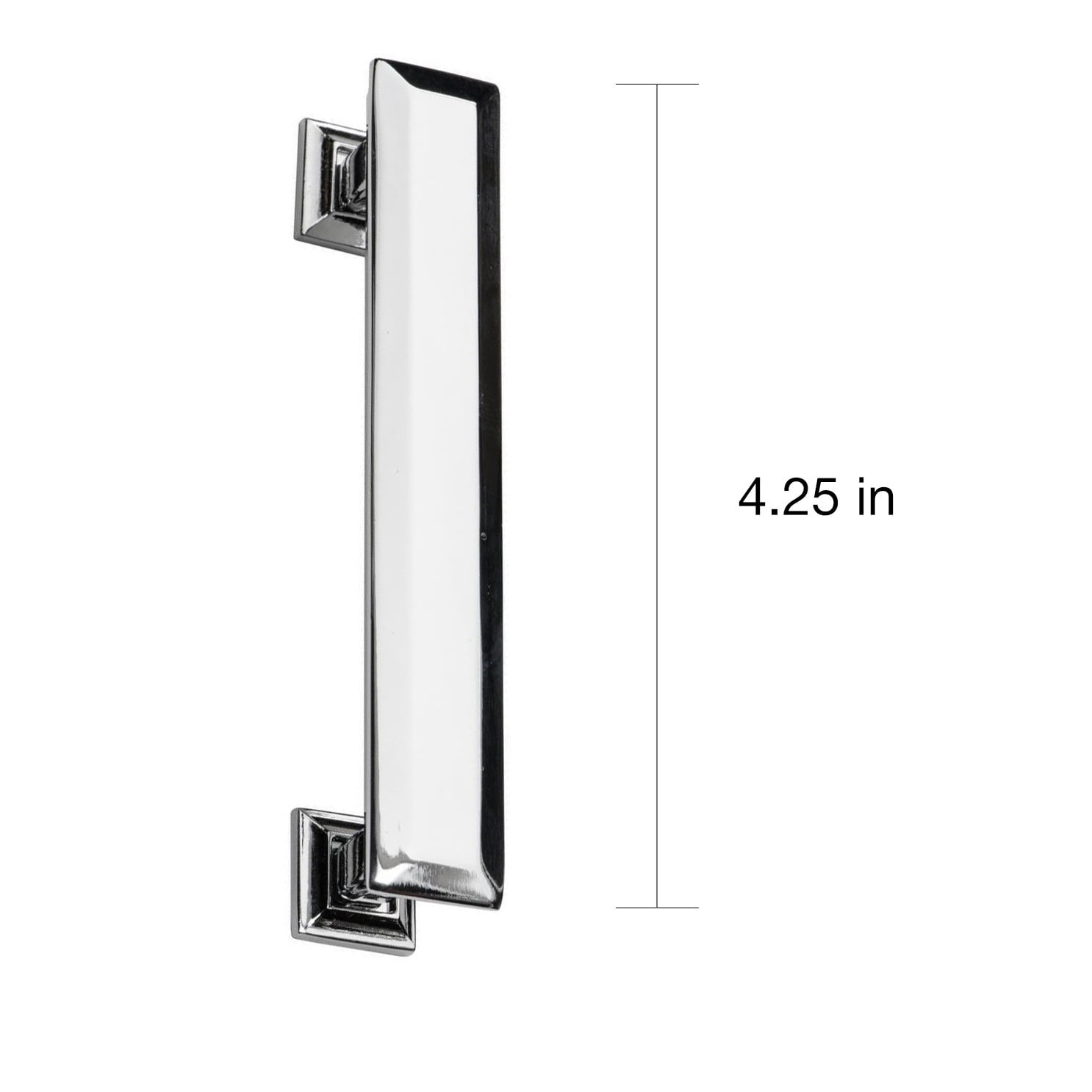 Shop Southern Hills Polished Chrome Cabinet Pull \'Englewood\' (Pack ...