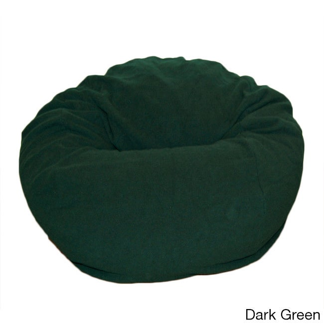 Anti Pill 36 Inch Wide Fleece Washable Bean Bag Chair   Free Shipping Today    Overstock   16186266