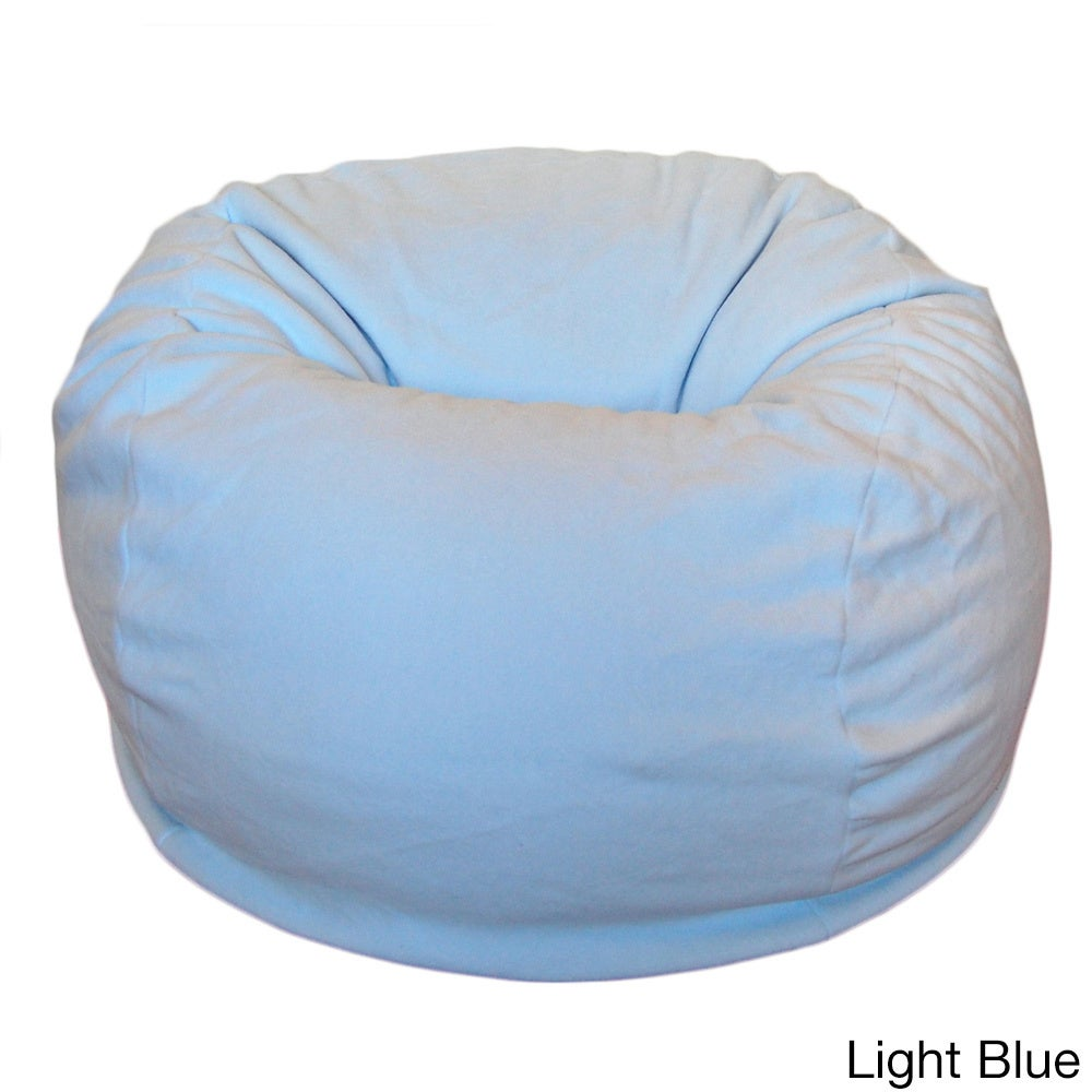 Incroyable Shop Anti Pill 36 Inch Wide Fleece Washable Bean Bag Chair   Free Shipping  Today   Overstock.com   8979057
