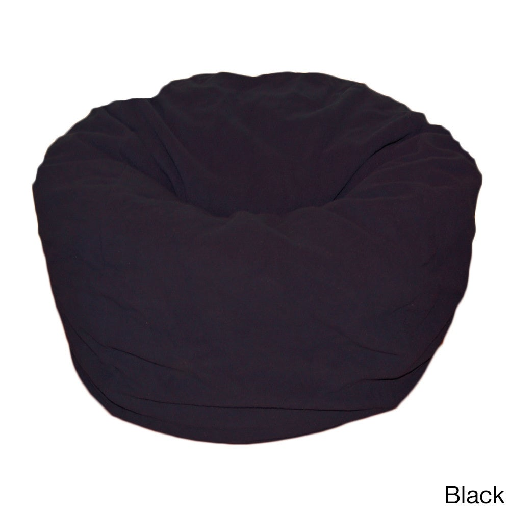 Shop Anti Pill 36 Inch Wide Fleece Washable Bean Bag Chair   Free Shipping  Today   Overstock.com   8979057