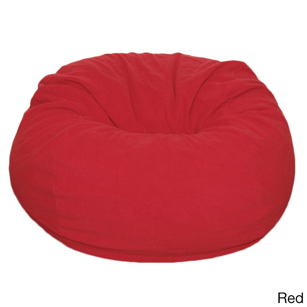 Gentil Shop Anti Pill 36 Inch Wide Fleece Washable Bean Bag Chair   On Sale   Free  Shipping Today   Overstock.com   8979057