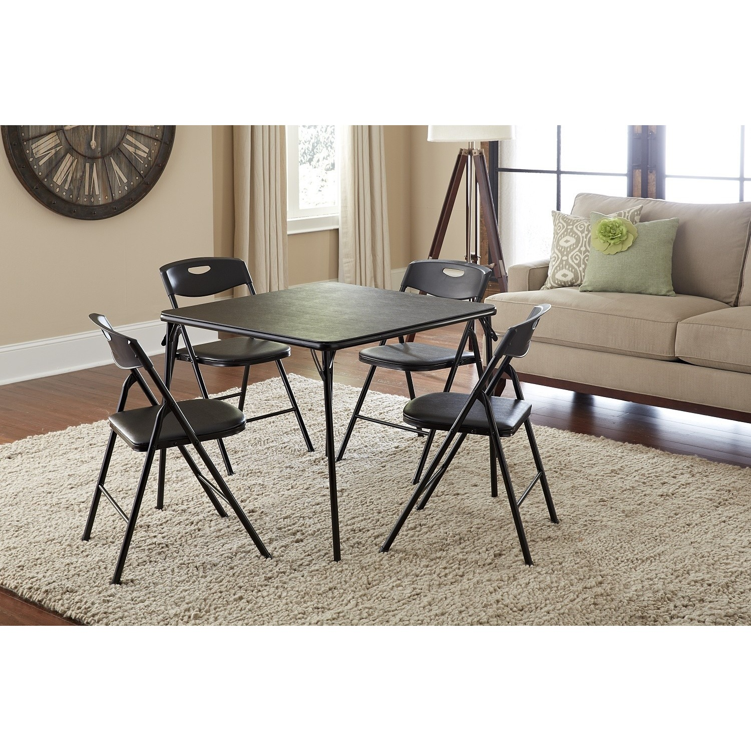Cosco 5-piece Folding Table and Chairs Set - Free Shipping Today ...