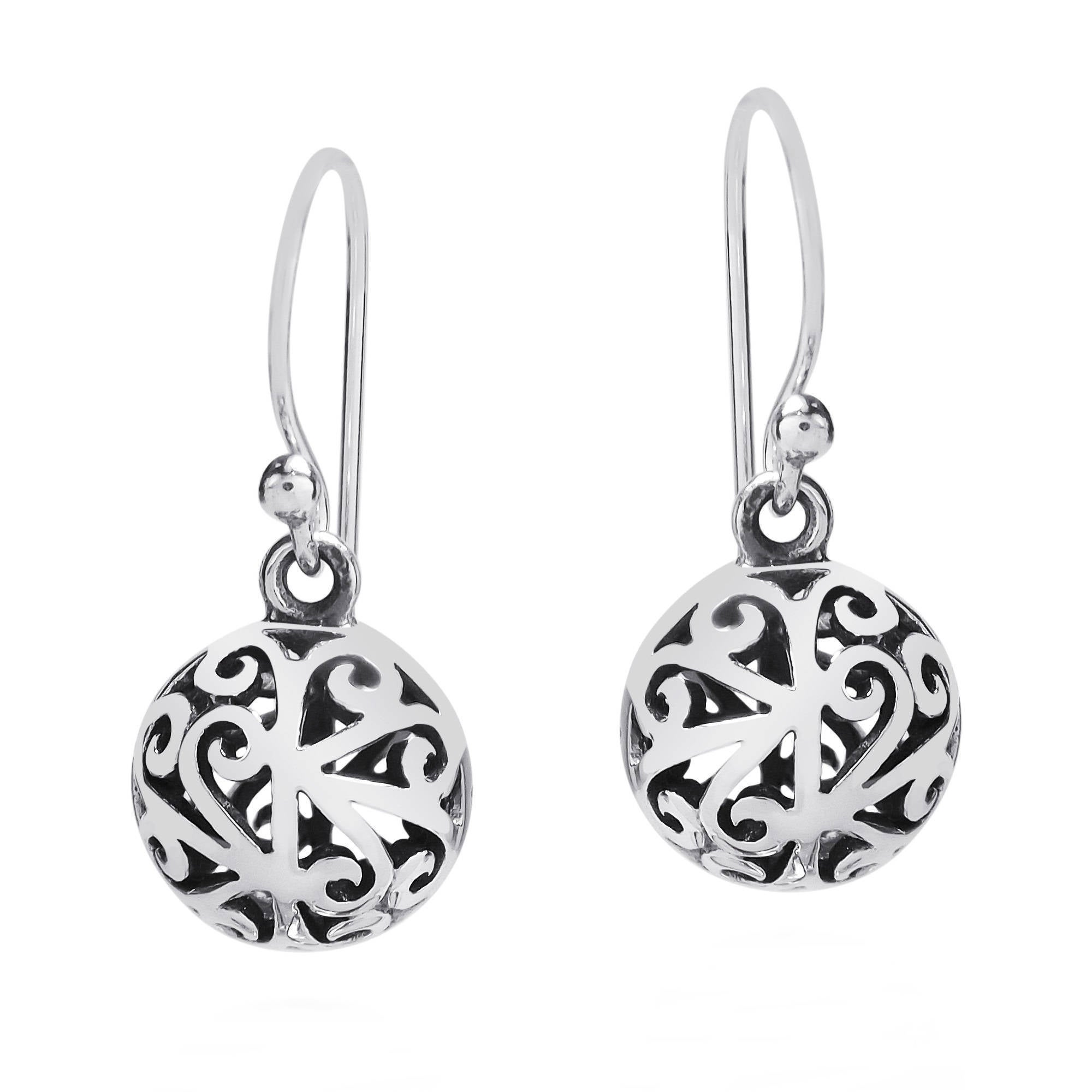 home product oaxacan earrings silver omero filigree