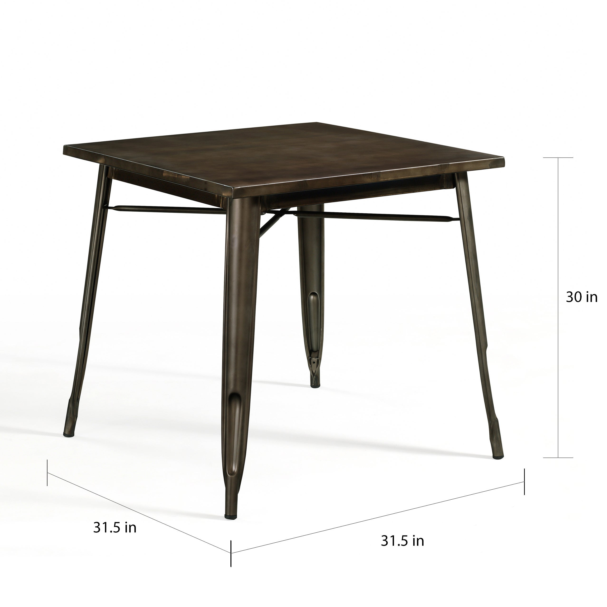 Shop Tabouret Vintage Bistro Dining Table Free Shipping Today