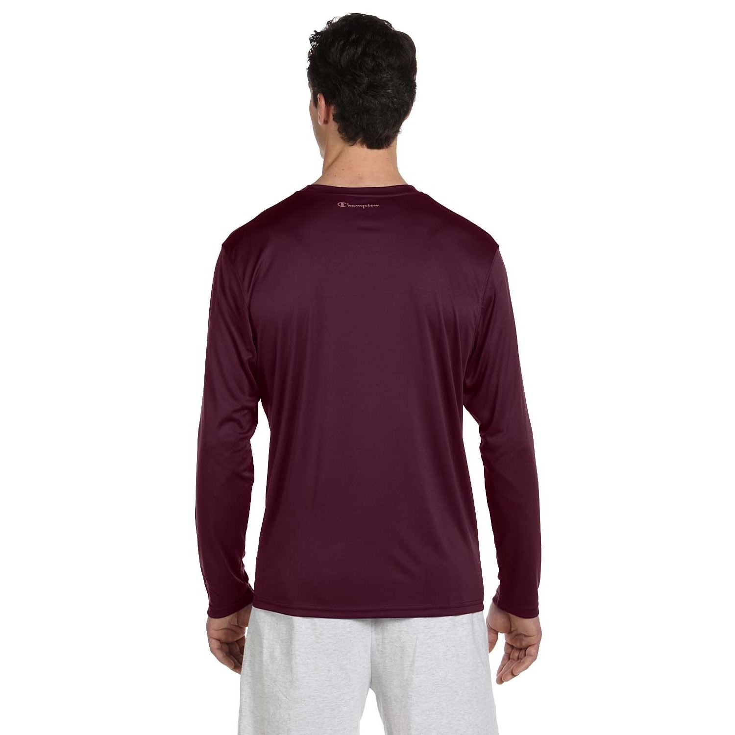039653e4 Shop Champion Men's Double Dry Performance Long Sleeve T-shirt - On Sale -  Free Shipping On Orders Over $45 - Overstock - 8984873