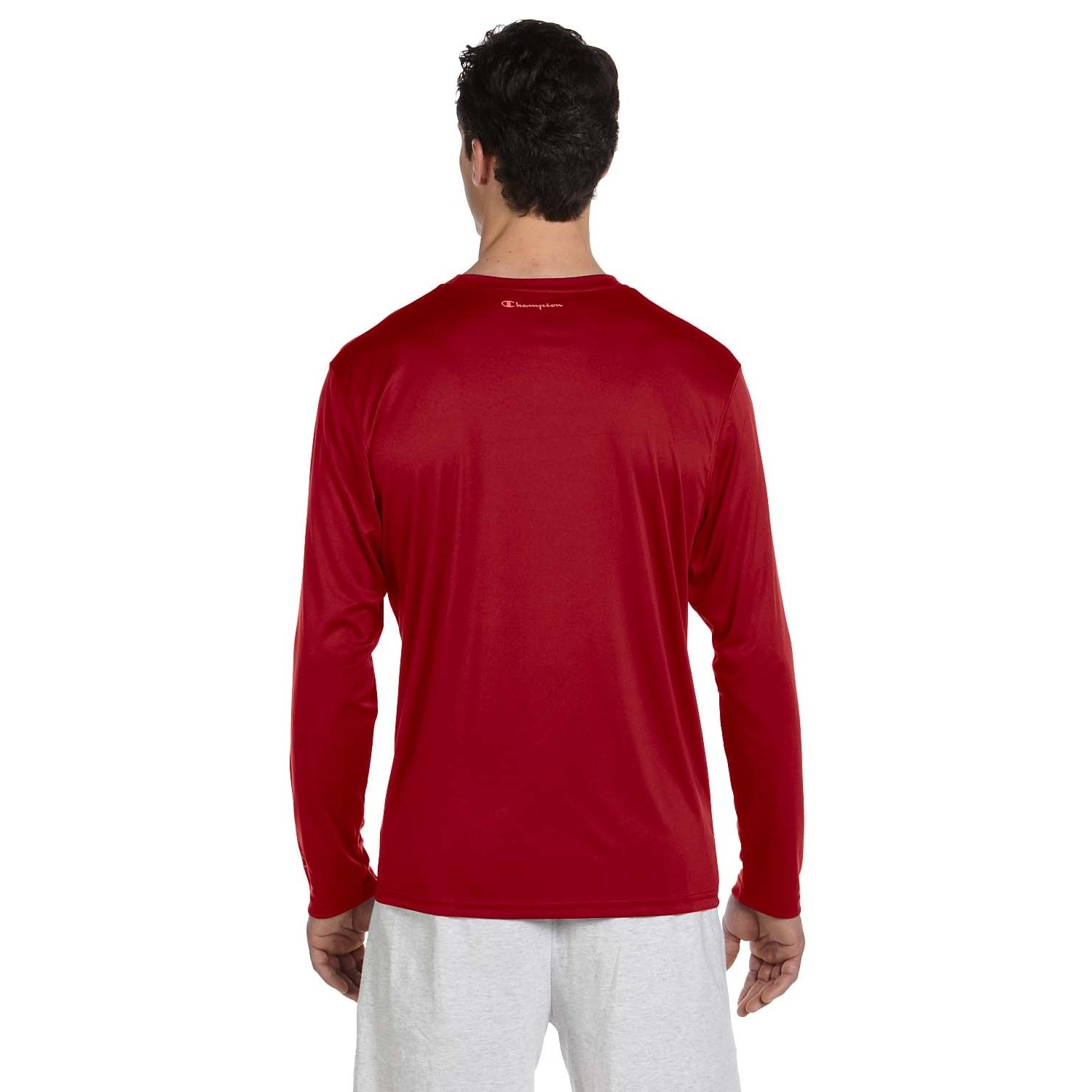 e9adc15c4 Shop Champion Men's Double Dry Performance Long Sleeve T-shirt - On Sale -  Free Shipping On Orders Over $45 - Overstock - 8984873