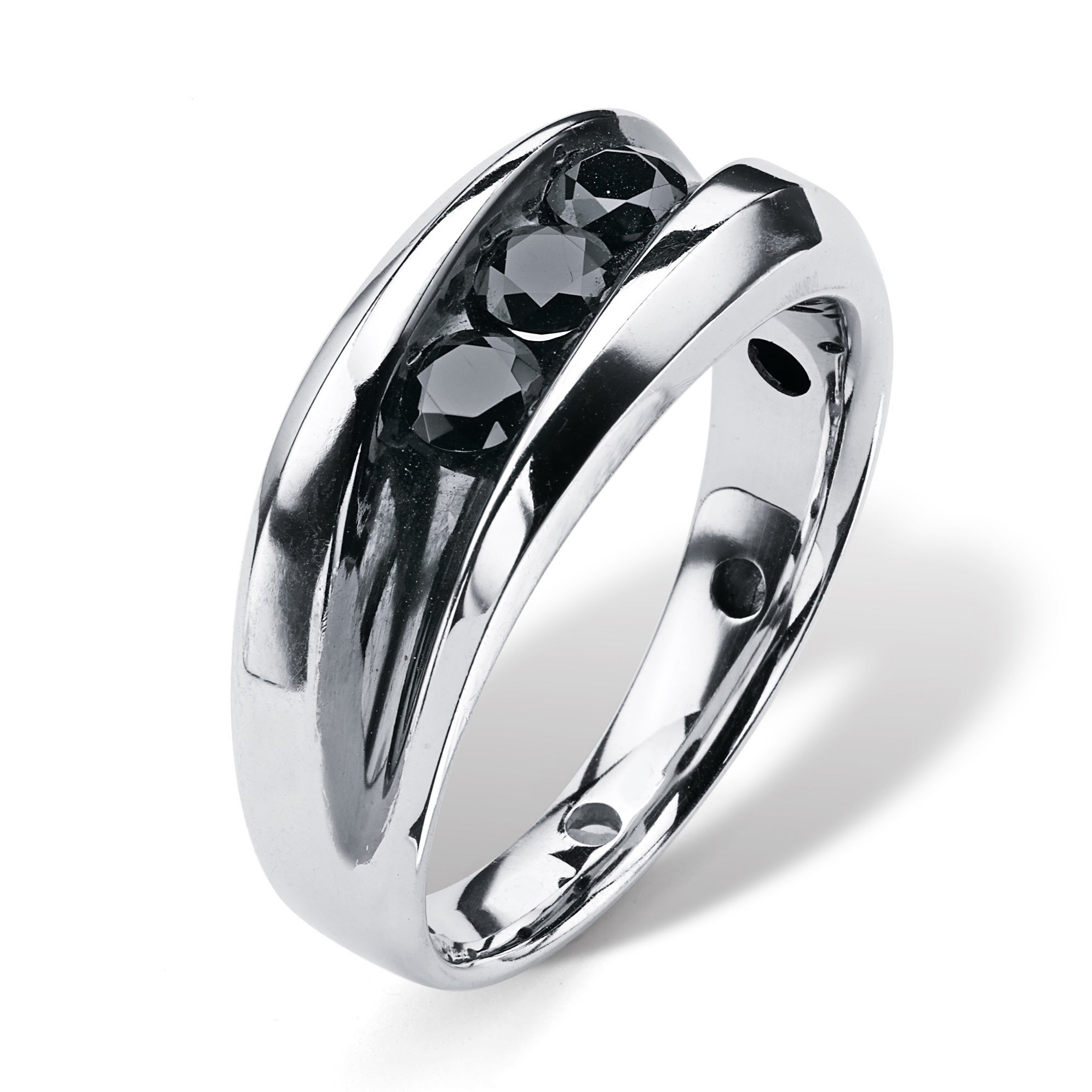 wedding mens rings platinum square tungsten band carbide bands latest within gold black