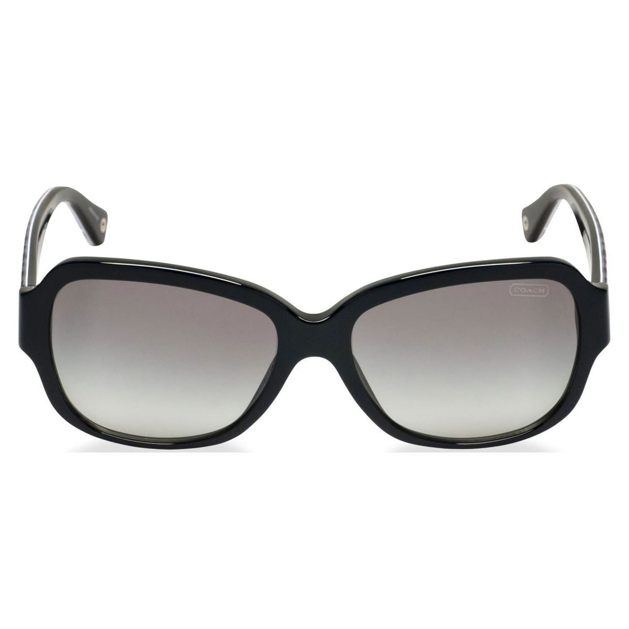 2259dbcd2e2 ... coupon code for shop coach womens pamela black oversized sunglasses  free shipping today overstock 8988676 f8c35