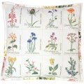 "Wild Flower Cushion On Aida Counted Cross Stitch Kit-16-1/8""X16-1/8"" 16 Count"