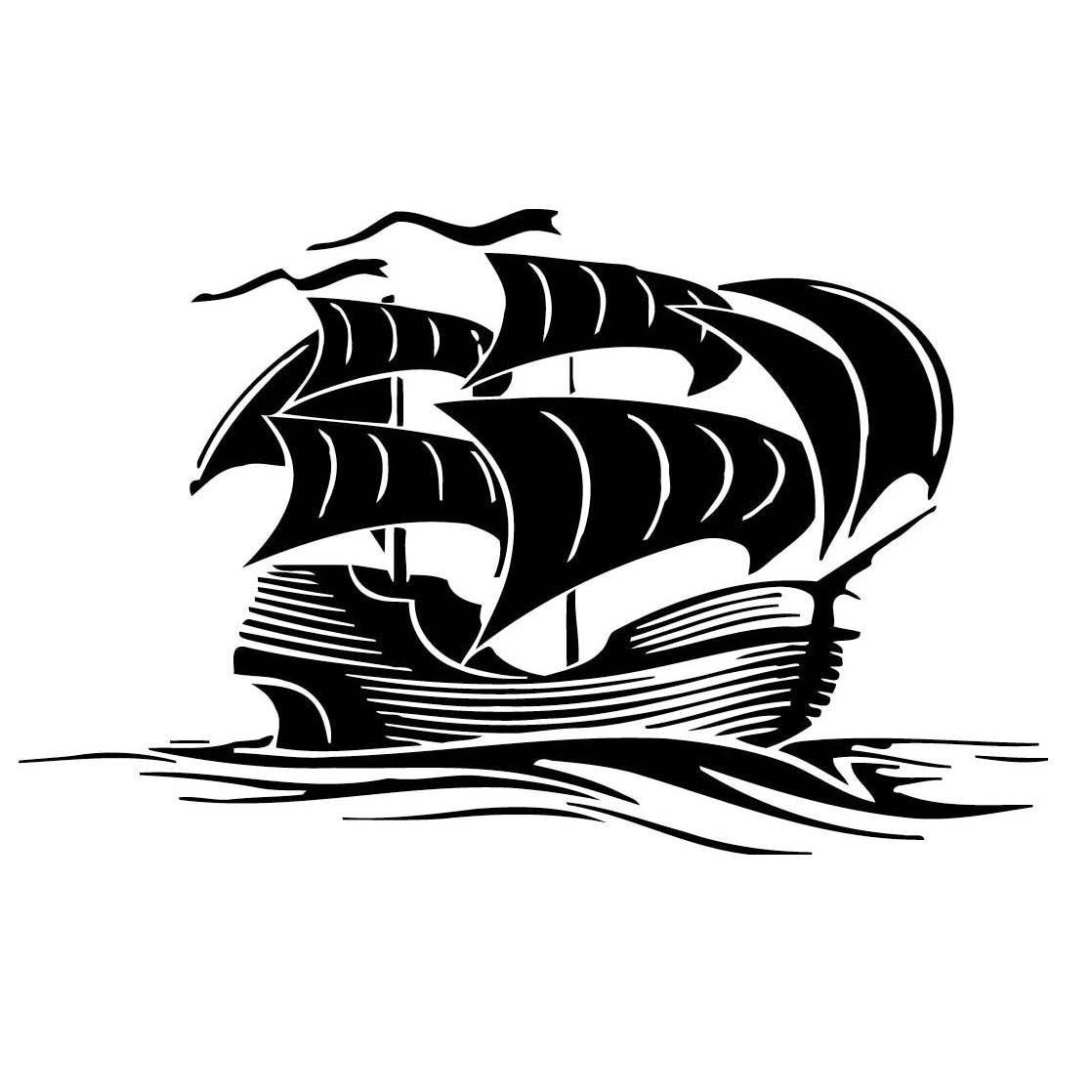 Shop Pirate Ship Vinyl Wall Art Free Shipping On Orders Over 45