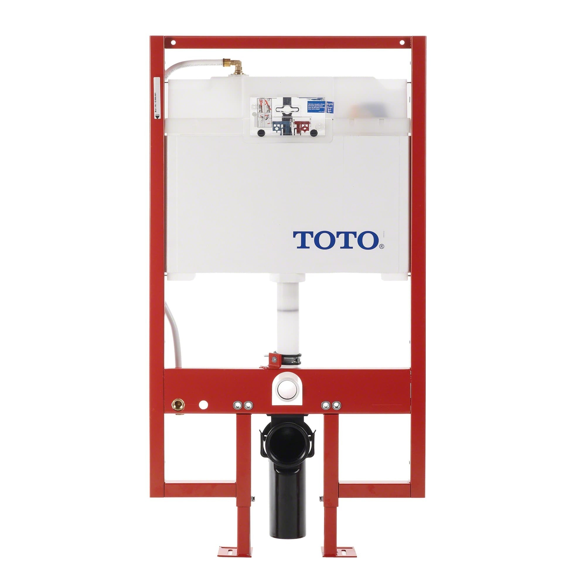 Shop Toto DuoFit In-Wall Dual Flush 0.9 and 1.6 GPF Tank System PEX ...