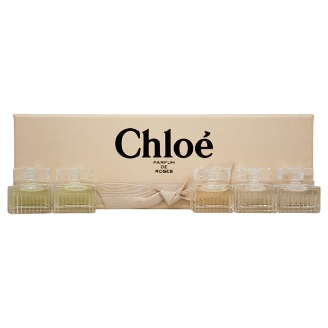 Shop Chloe Parfum De Roses Miniatures Collection Womens 5 Piece