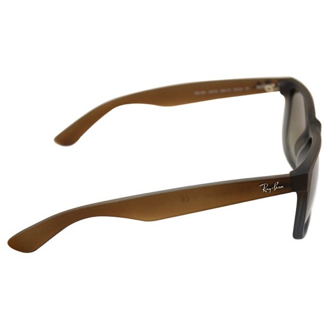 0d181edda5 ... low price shop ray ban justin classic rb4165 unisex brown frame green  gradient lens sunglasses free