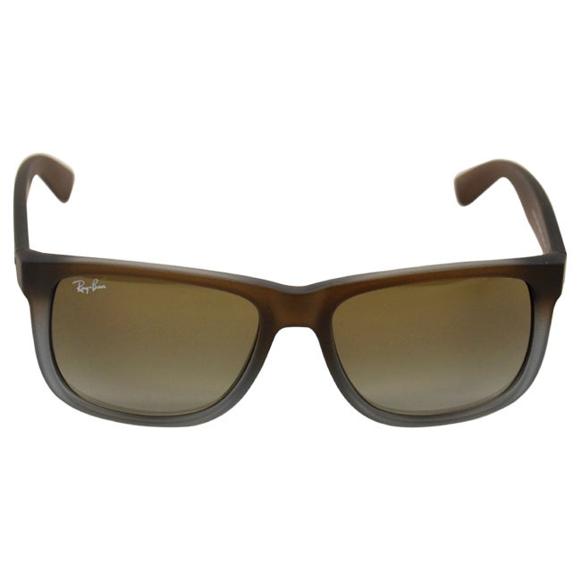 63a1201adb0 Shop Ray-Ban Justin Classic RB4165 Unisex Brown Frame Green Gradient Lens  Sunglasses - Free Shipping Today - Overstock - 9007690