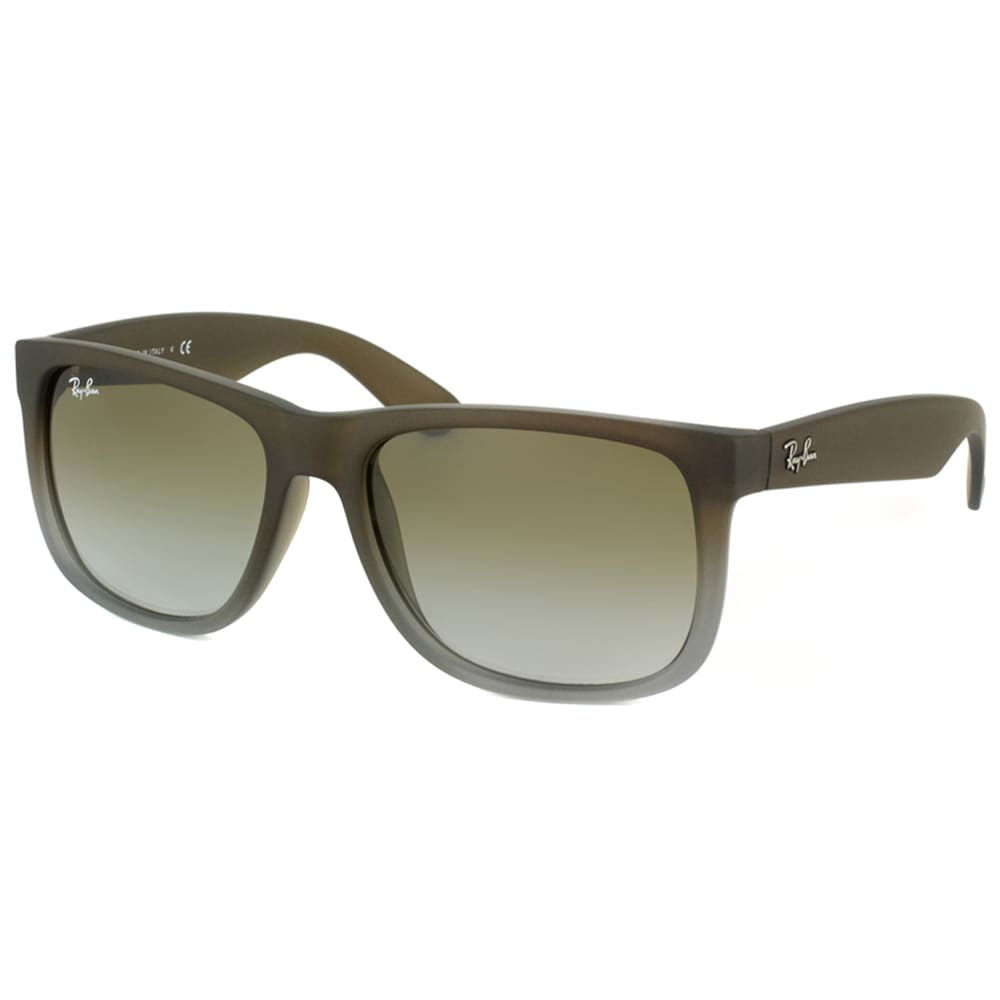 ff95823545 Ray-Ban Justin Classic RB4165 Unisex Brown Frame Green Gradient Lens  Sunglasses