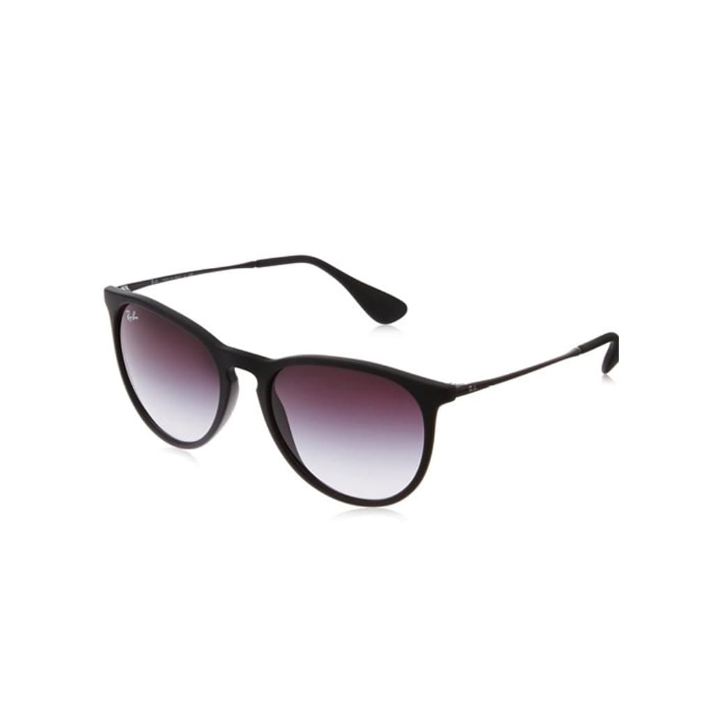 361b648a0c4 Shop Ray-Ban Erika Classic RB 4171 Women s Black Frame Grey Gradient Lens  Sunglasses - Ships To Canada - Overstock - 9007692