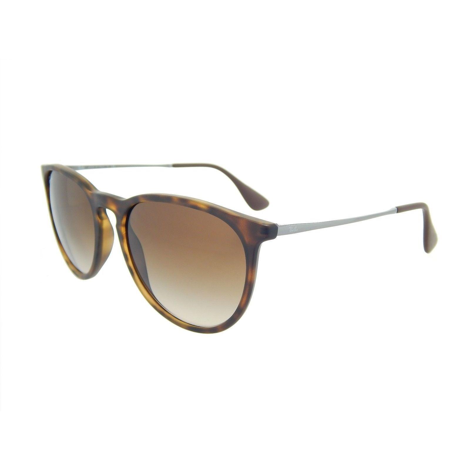 325ea4fa8 Ray-Ban Erika RB 4171 Unisex Tortoise/Gunmetal Frame Brown Gradient Lens  Sunglasses