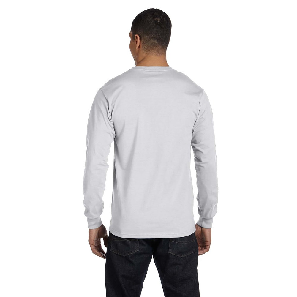 2f49118a187 Shop Gildan Men s Dry Blend Fabric Long Sleeve T-shirt - On Sale - Free  Shipping On Orders Over  45 - Overstock - 9007930