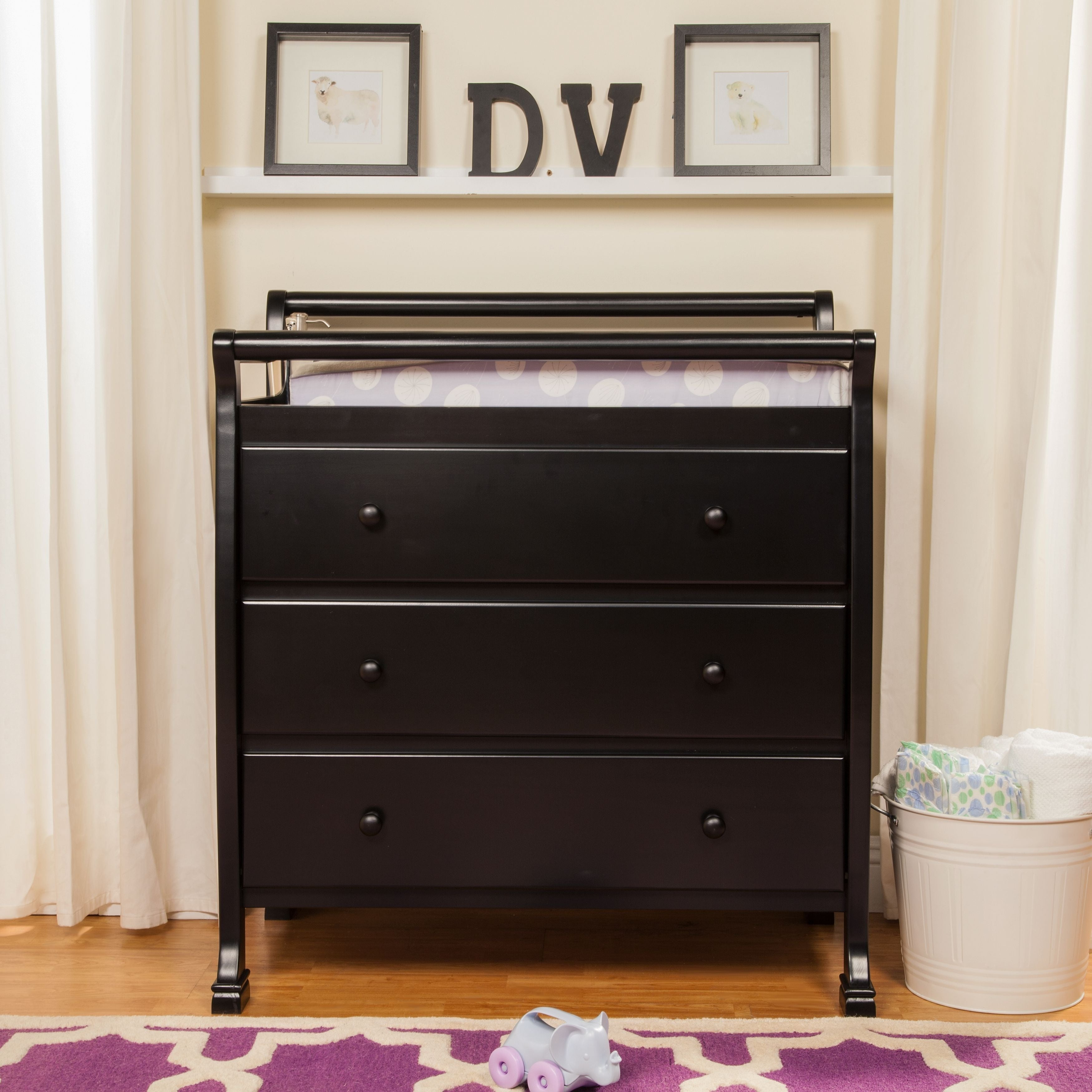 double home davinci kalani wide wood shipping baby overstock drawer garden free mod today product dresser