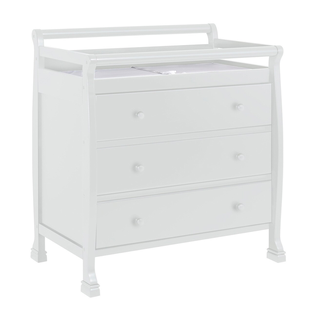 Bon Shop DaVinci Kalani 3 Drawer Changer Dresser   Free Shipping Today    Overstock.com   9008072