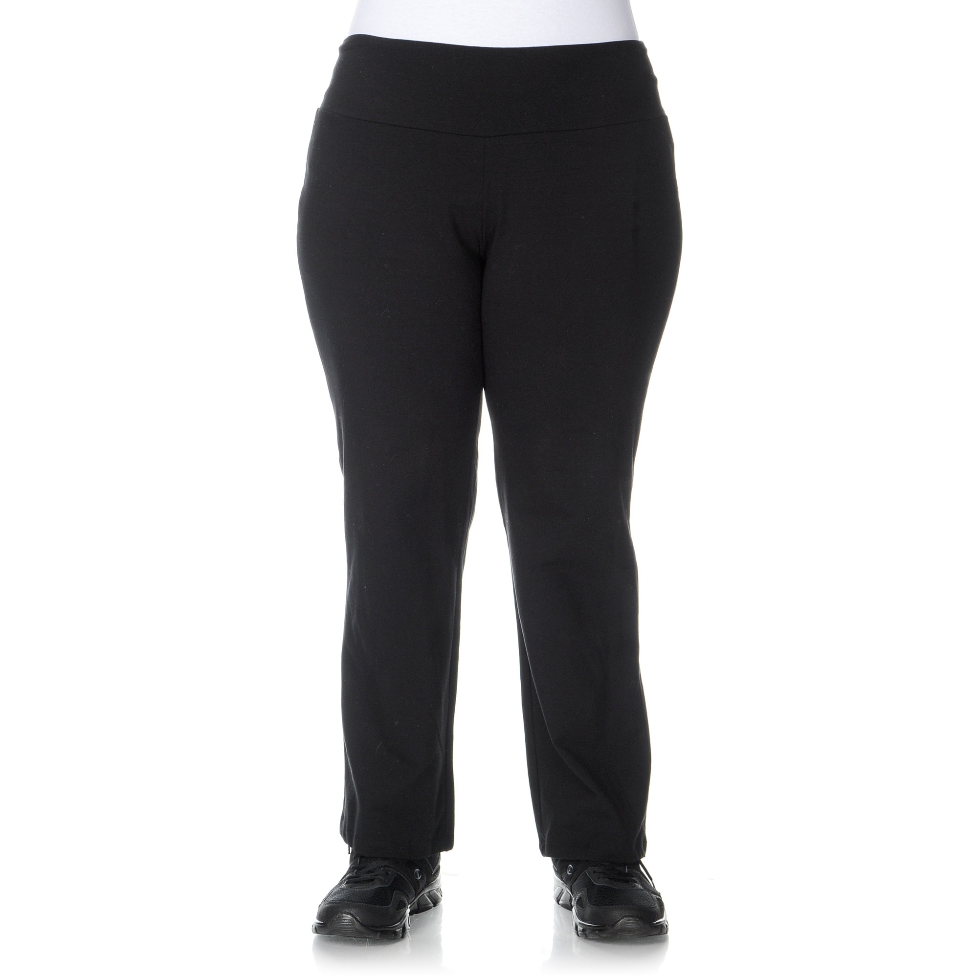 a19fcd428e829 Shop Teez-Her Women's Plus Size 'The Skinny' Tummy Control Pants ...