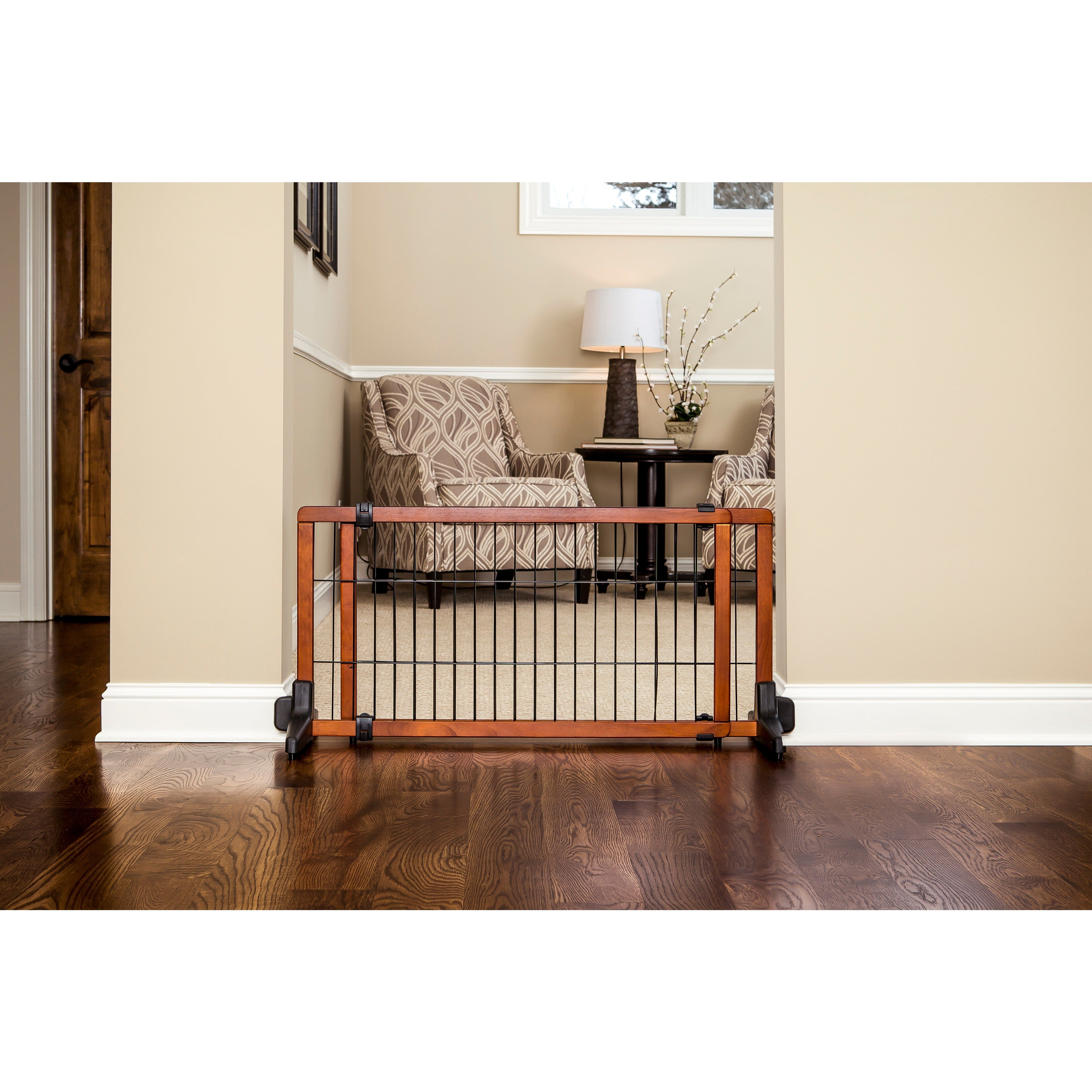f655ae22011 Shop Carlson Free-standing Wooden Pet Gate - Free Shipping Today ...