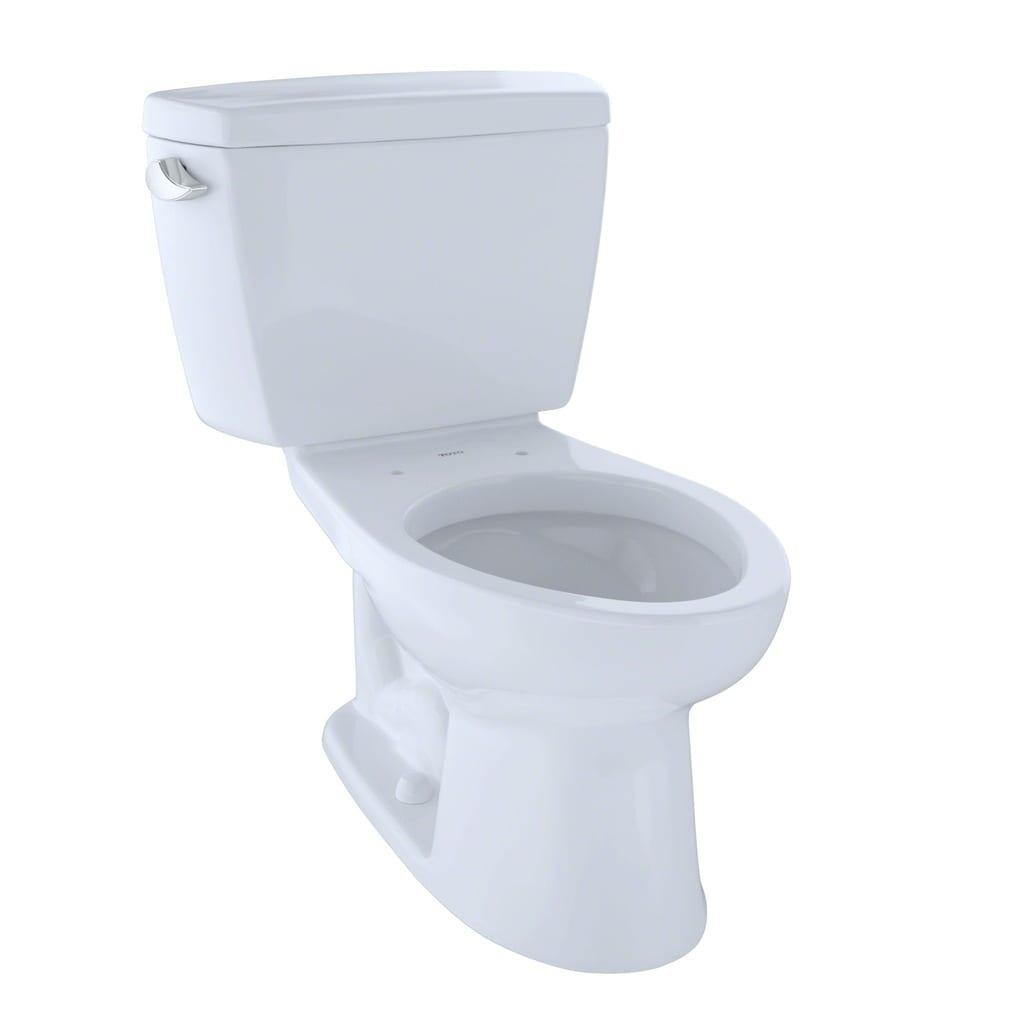 Toto Drake Elongated Cotton White Eco E-Max ADA Toilet - Free ...