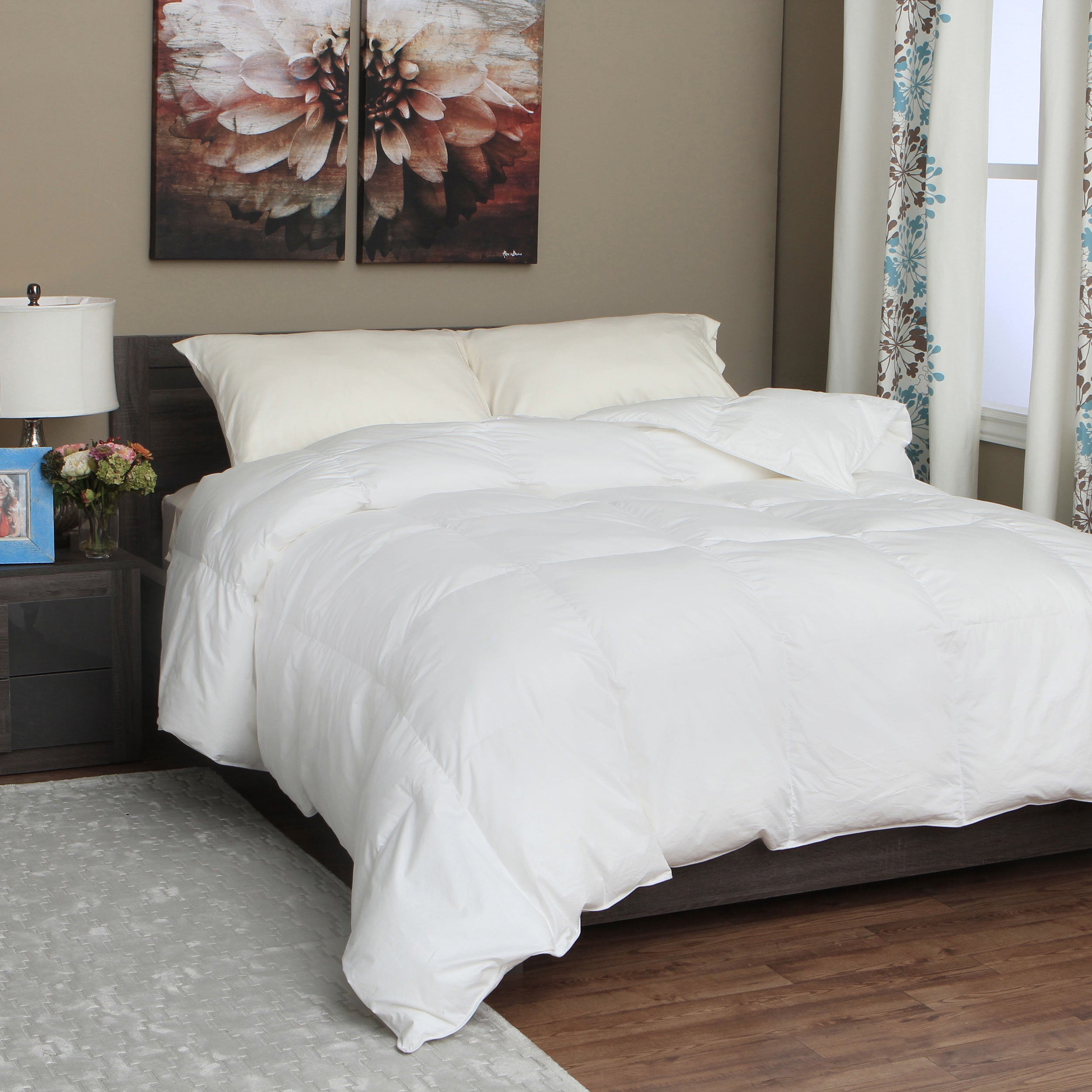 overstock set home shipping queen vcny bath comforter bedding nina embossed today down alternative product free