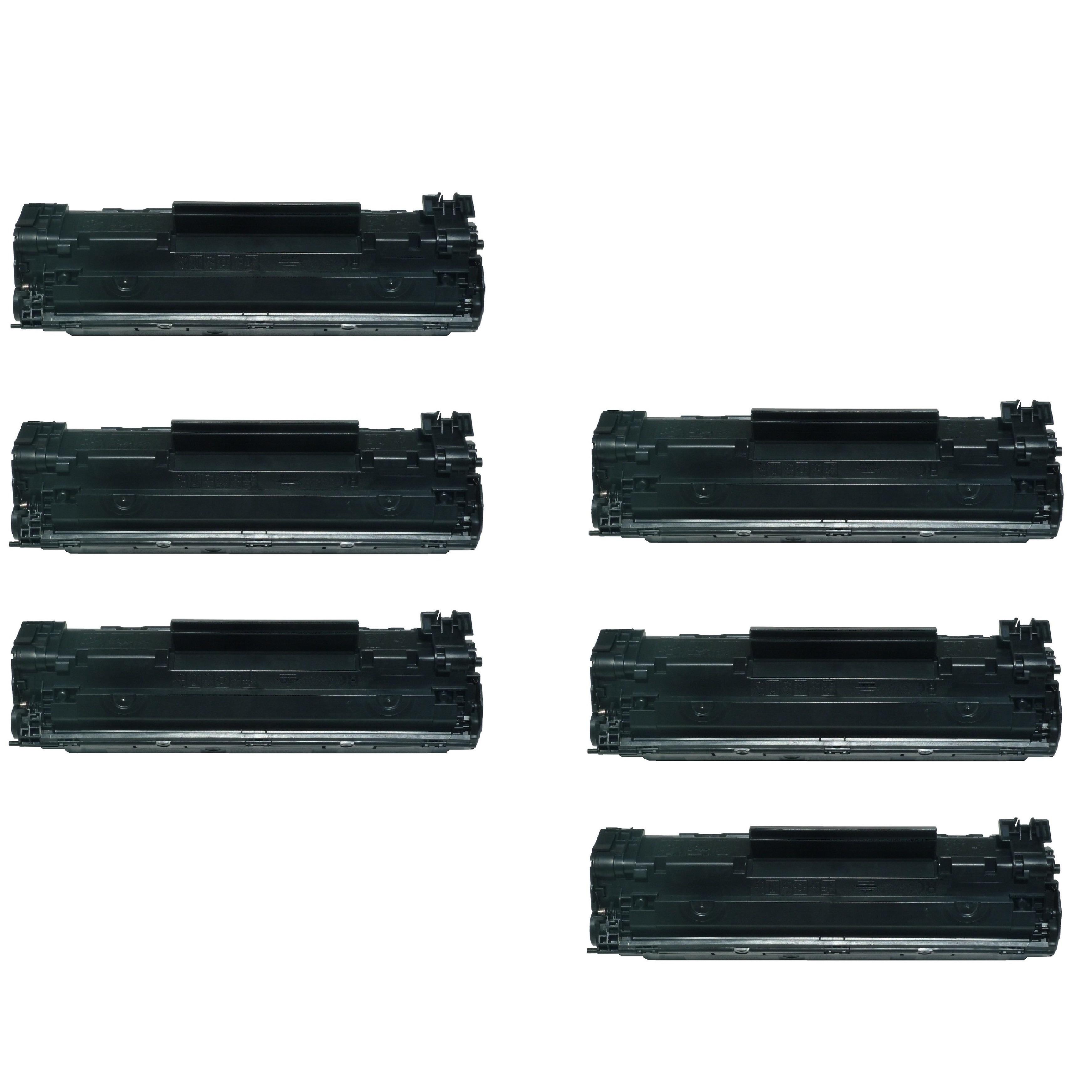 Shop Compatible Hp 85a Ce285a Toner Laserjet M1132 M1212 M1217 Ce 285a P1102 M1130 M1134 M1136 M1137 M1138 Pack Of 6 Free Shipping Today