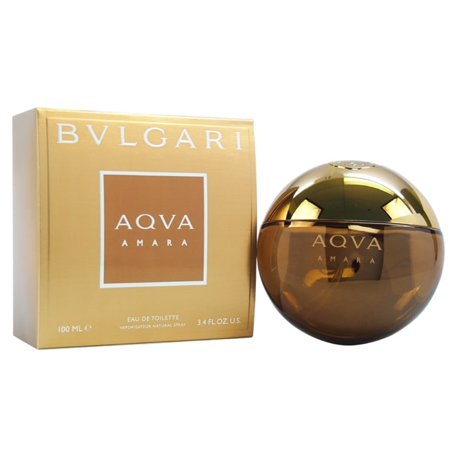 d7b88d20ddd Shop Bvlgari Aqva Amara Men s 3.4-ounce Eau de Toilette Spray - Free ...