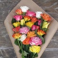 The Bouqs California Collection 'Far Out, Dad' Deluxe Rose Bouquet