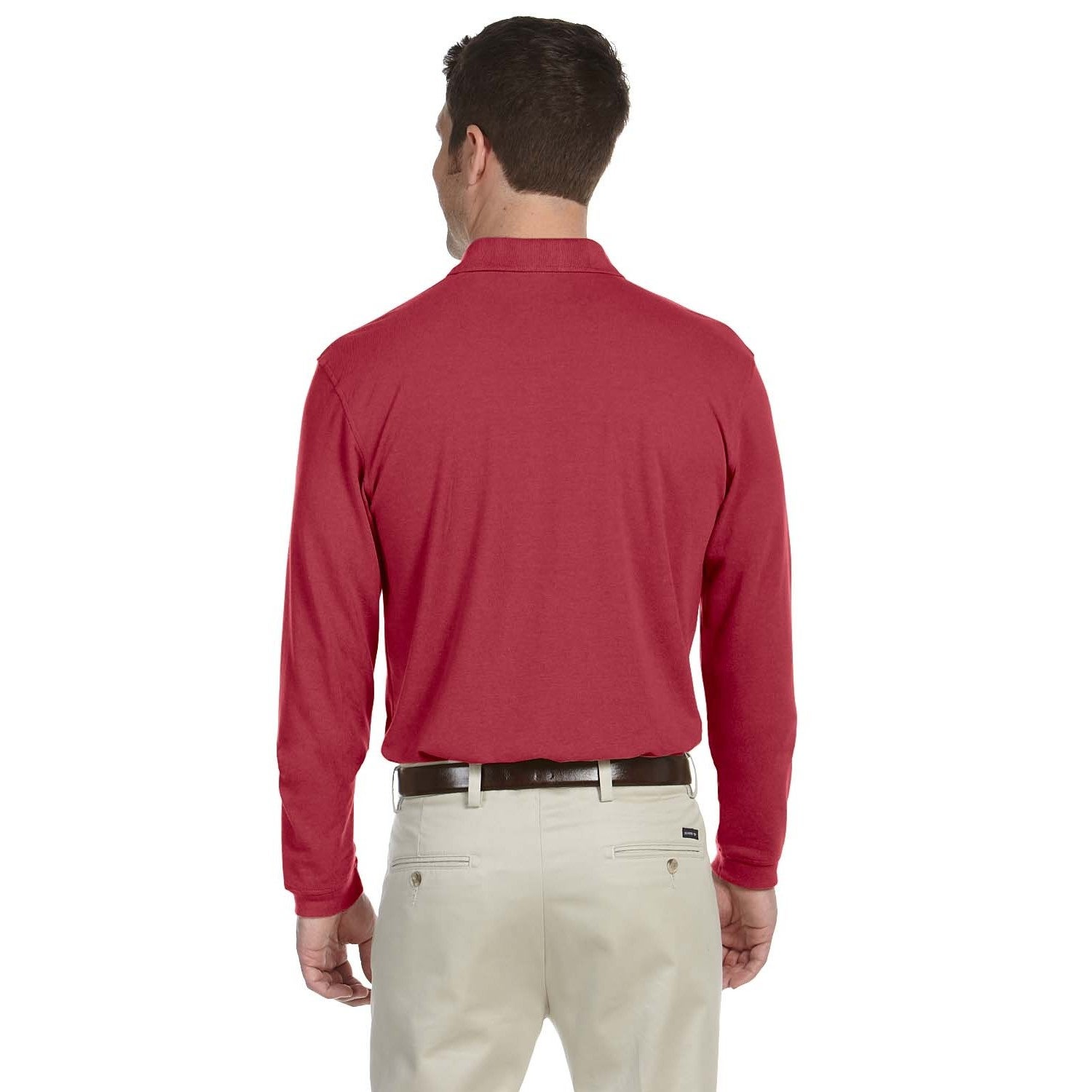 ad963b6c Mens Red Long Sleeve Polo Shirts – EDGE Engineering and Consulting ...