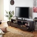 The Gray Barn Elsinora 59-inch Espresso TV Stand