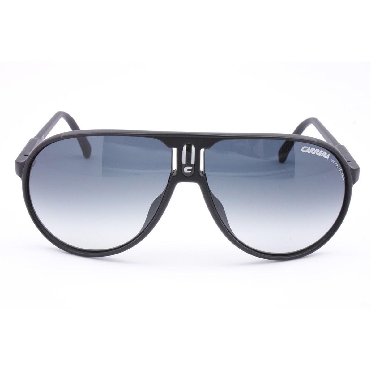 d438204bb4 Shop Carrera Men s  Champion L S  Matte Black Plastic Aviator Sunglasses -  Extra Large - Free Shipping Today - Overstock - 9035271