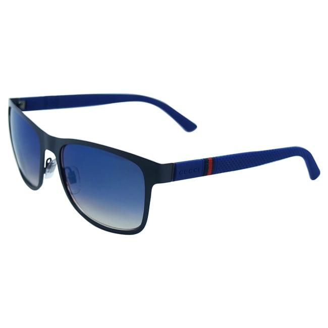 a246f08e91c Shop Gucci Men s GG 2247 S 4VDKM Sunglasses - Free Shipping Today -  Overstock - 9036503