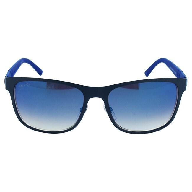 5dd1a5a2da Shop Gucci Men s GG 2247 S 4VDKM Sunglasses - Free Shipping Today -  Overstock - 9036503