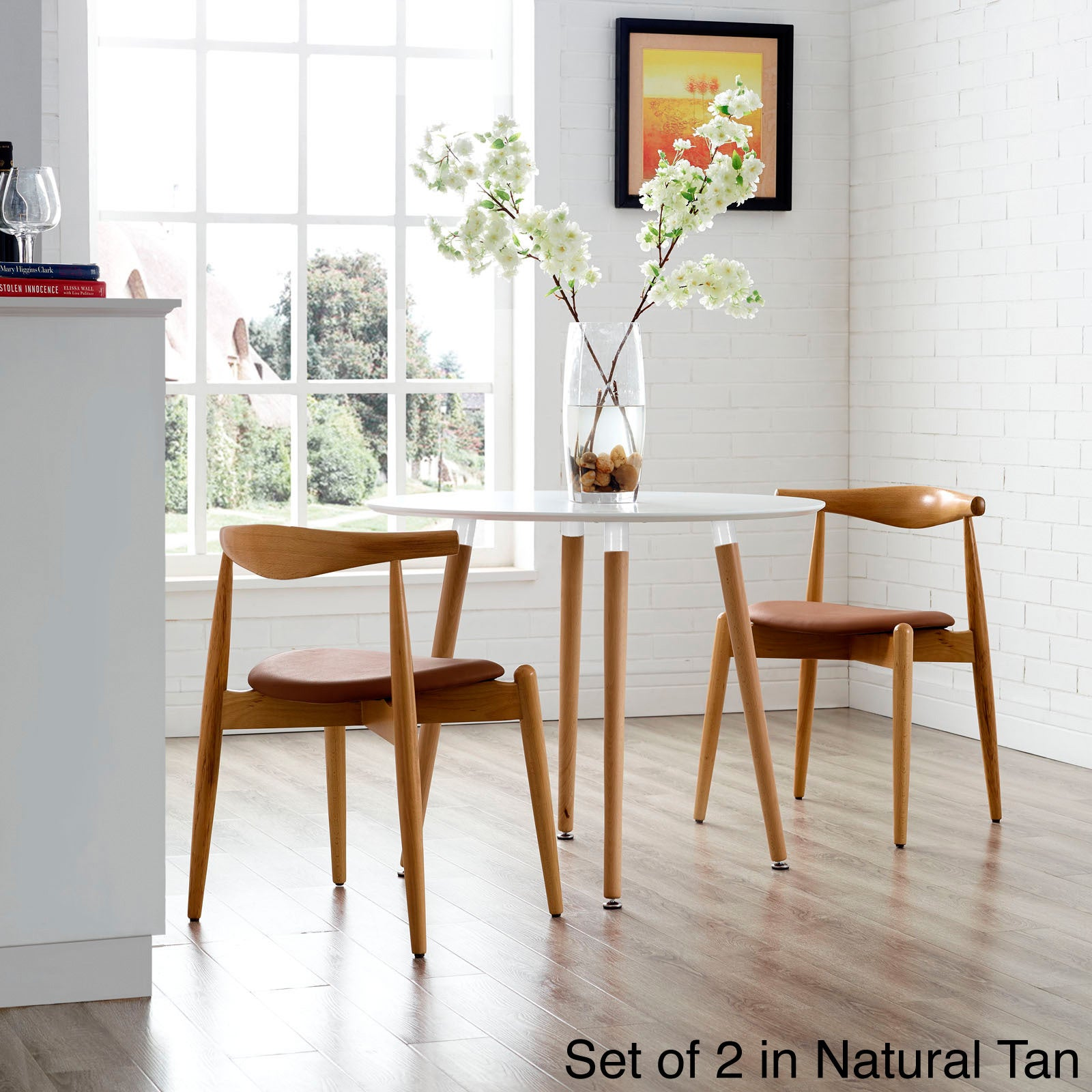 Shop Stalwart Dining Chair Set - Free Shipping Today - Overstock.com -  9046137