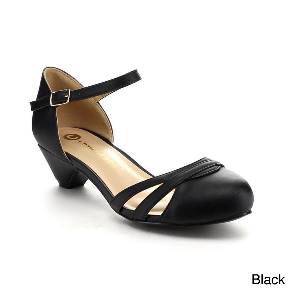 7c3a8fd66b72f0 Shop Be Intouch Gabby-1 Women s Ankle-Strap Kitten Heel Sandals - Free  Shipping On Orders Over  45 - Overstock - 9048621