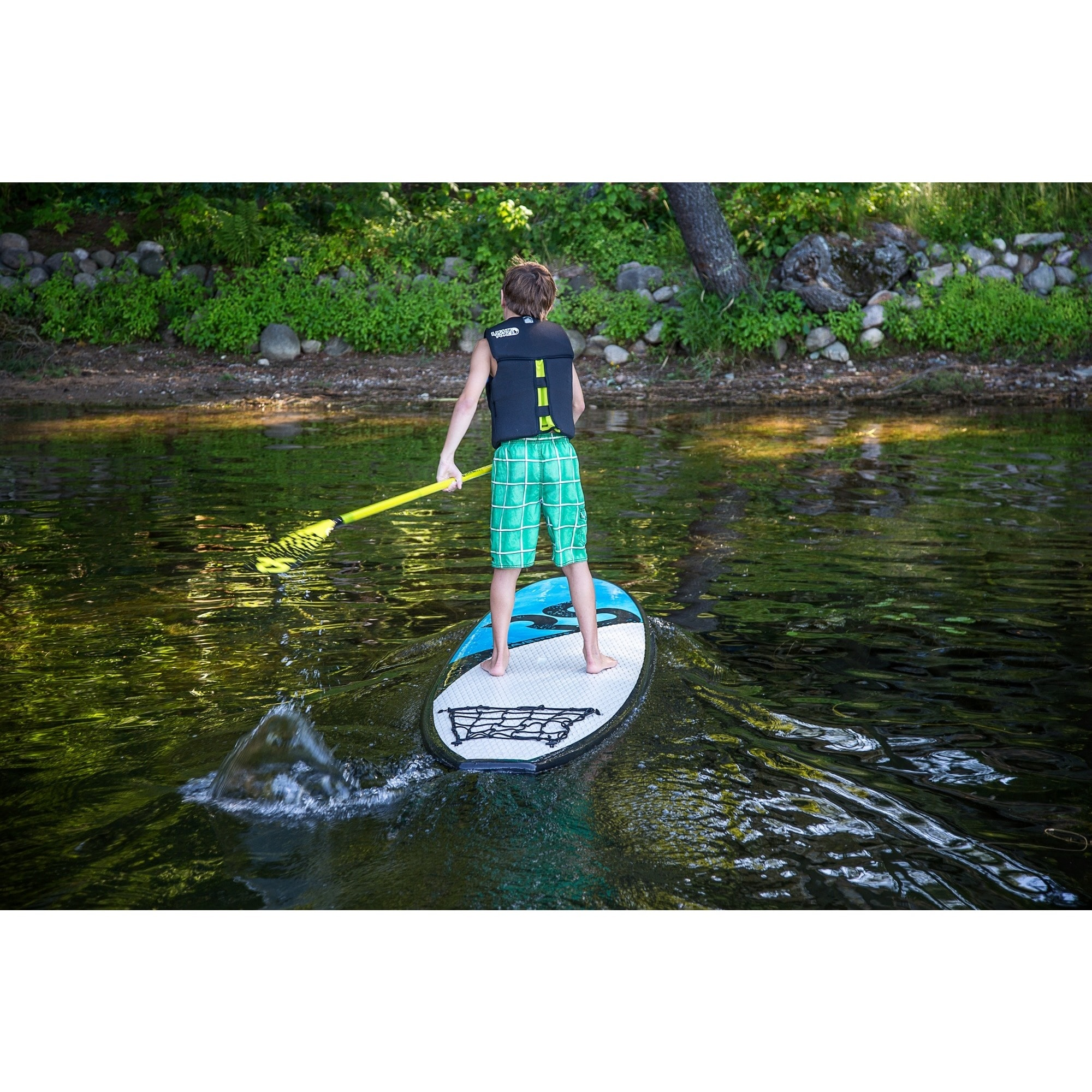 9049a53cb Shop Rave Sports Flight 8.5-foot Soft Top Stand Up Paddle Board - Free  Shipping Today - Overstock.com - 9048708