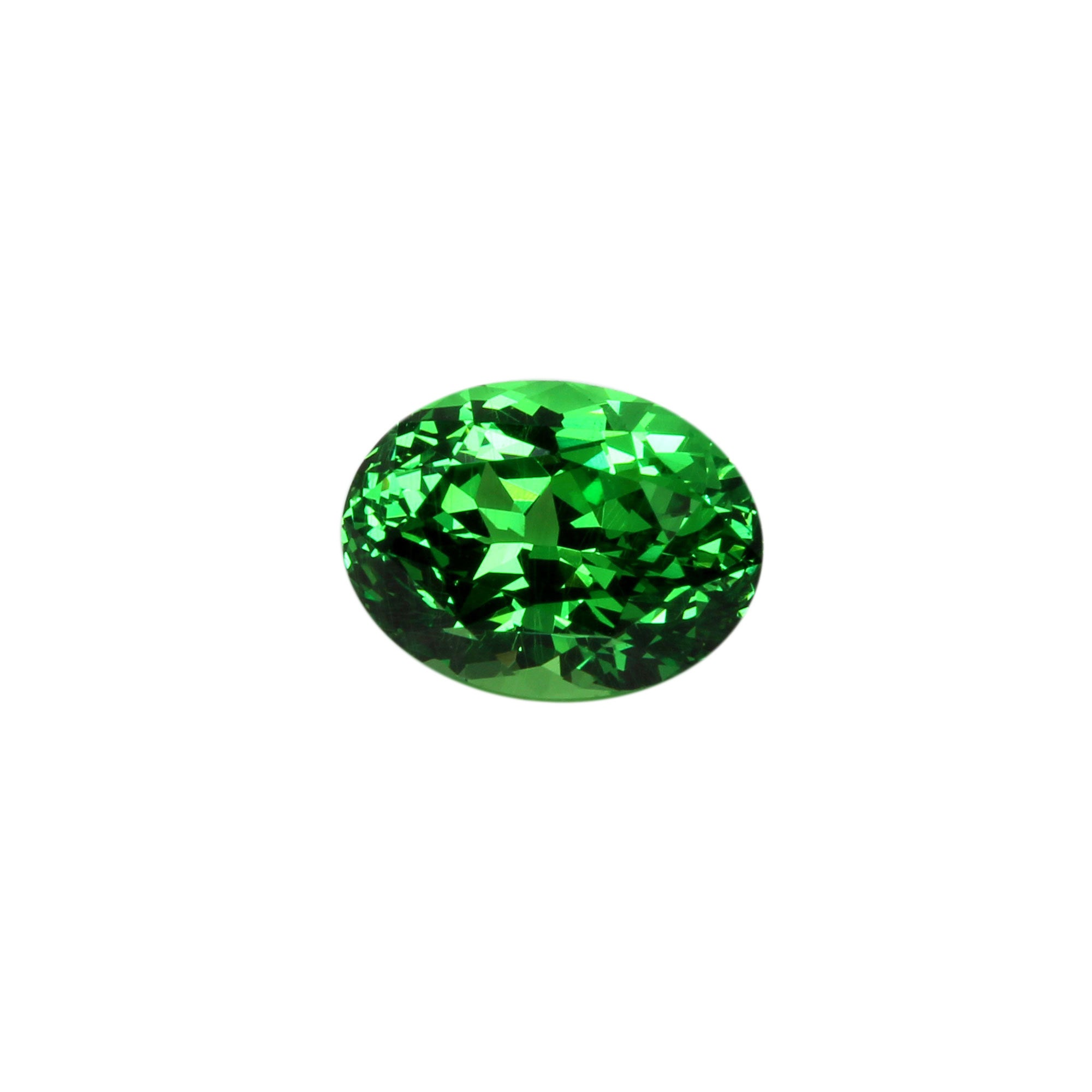 facet piece gemstone garnet tsavorite rough each green grams sold average