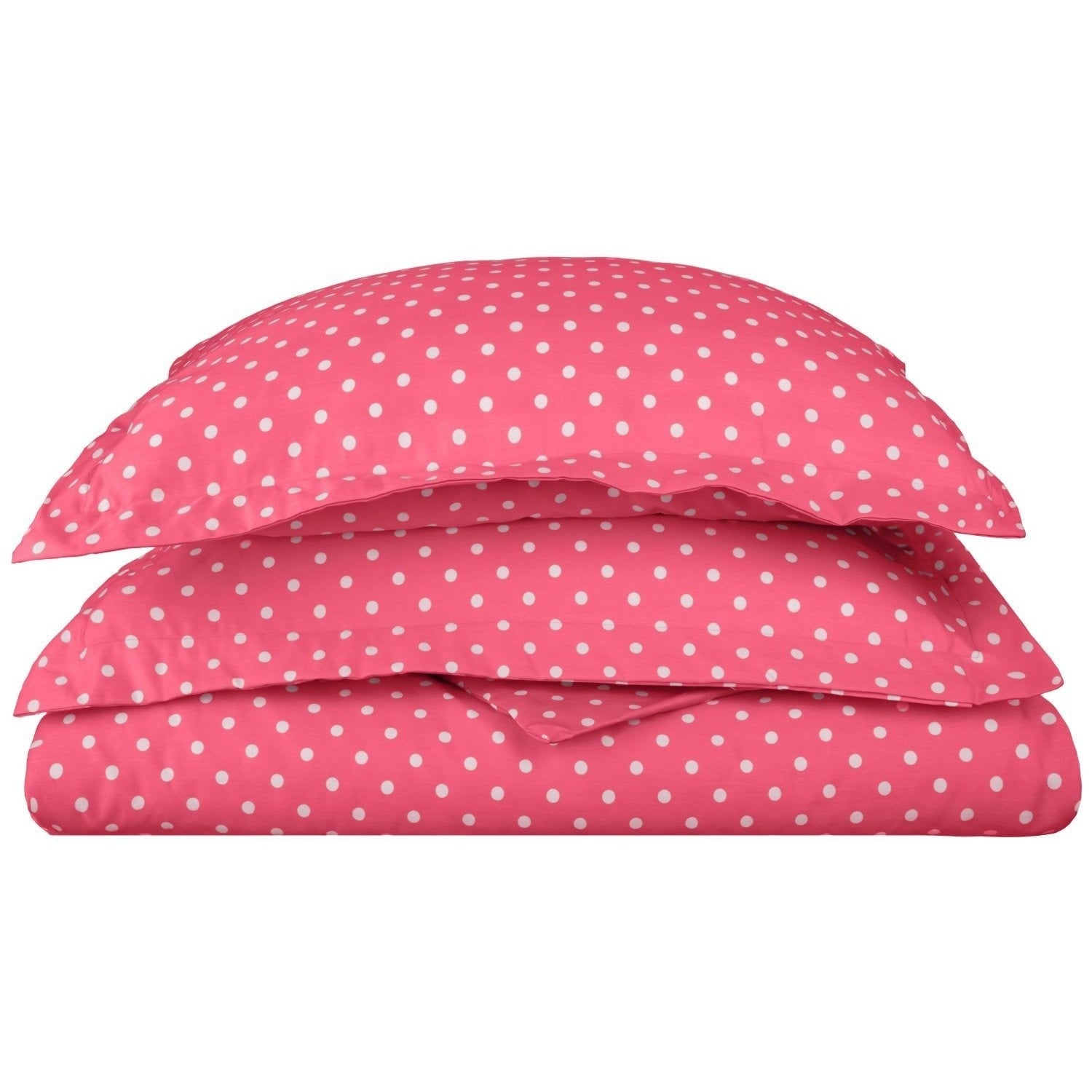 Shop Superior 600 Thread Count Polka Dot Cotton Blend Duvet Cover Set   On  Sale   Free Shipping On Orders Over $45   Overstock.com   9048830