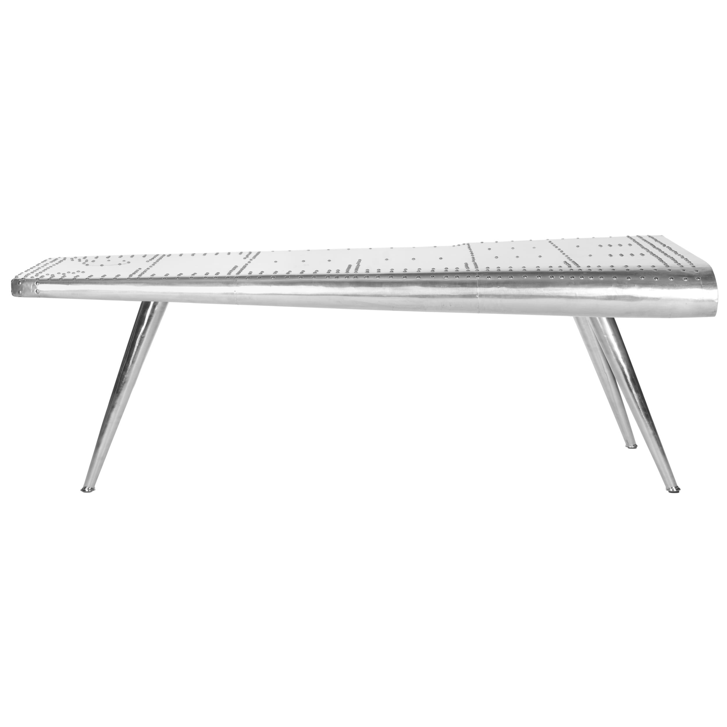 Safavieh Aviator Silver Coffee Table Free Shipping Today
