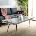 Safavieh Aviator Silver Coffee Table