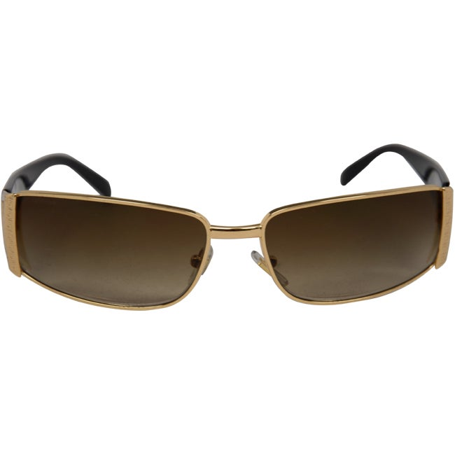 cc05507f8bf4 Shop Versace Unisex VE 2021 100213 Gold Brown Gradient Fashion Wrap  Sunglasses - Free Shipping Today - Overstock - 9050607