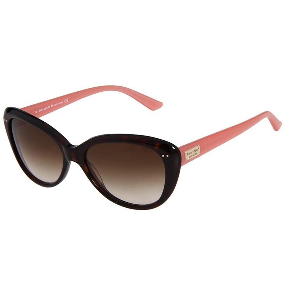 2fedea5ec301 Kate Spade Women's 'Angelique JUH' Tortoise and Pink Cat Eye Sunglasses