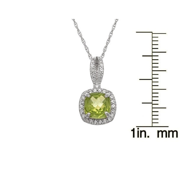 p opal created lab white sapphire pdp product necklace